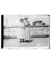 Mary & Selia Hopp, Photograph Number 080... by Library of Congress