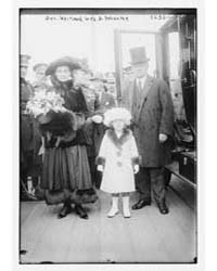 Gov. Whitman, Wife & Daughter, Photograp... by Library of Congress