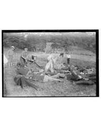 Filming Vitagraph Battle Scene, Photogra... by Library of Congress
