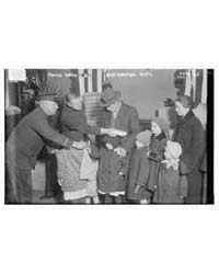 Police Xmas Tree ; Distributing Gifts, P... by Library of Congress