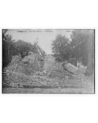 Ruined Chateau at Pas De Calais, Photogr... by Library of Congress