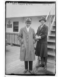 Eric Brown & Wife, Photograph Number 391... by Library of Congress