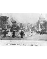 Suffragette Parade Mar. 3, 1913; Wash., ... by Library of Congress