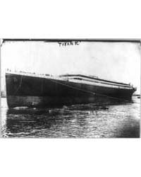 The Titanic, Photograph Number 3B04419R by Library of Congress