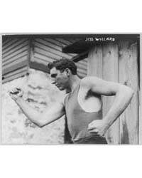 Jess Willard, Photograph Number 3B08379R by Library of Congress