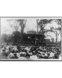 Concert in Central Park, New York City, ... by Library of Congress