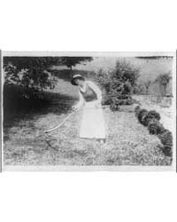 Alma Gluck Cutting Grass with a Scythe, ... by Library of Congress