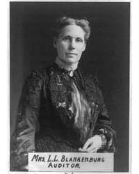Mrs. Rudolph Blankenburg, Half-length Po... by Gutekunst, Frederick
