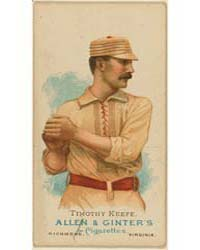Timothy Keefe, New York Giants by Allen & Ginter