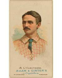 R. L. Caruthers, St. Louis Browns by Allen & Ginter
