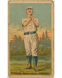 Ned Hanlon, Detroit Wolverines by D. Buchner & Company
