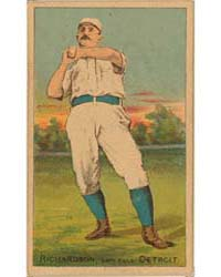 Hardy Richardson, Detroit Wolverines by D. Buchner & Company