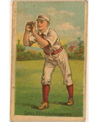 John Cahill, Indianapolis Hoosiers by D. Buchner & Company
