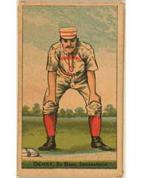 Jerry Denny, Indianapolis Hoosiers by D. Buchner & Company