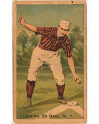 Buck Ewing, New York Giants by D. Buchner & Company