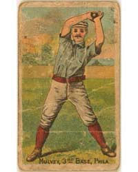 Joe Mulvey, Philadelphia Quakers by D. Buchner & Company