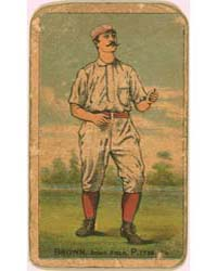 Tom Brown, Pittsburgh Alleghenys by D. Buchner & Company