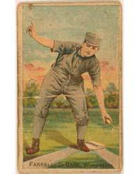Jack Farrell, Washington Statesmen by D. Buchner & Company