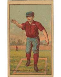 Caruthers, St. Louis Browns by D. Buchner & Company