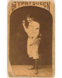Jack Glasscock, Indianapolis Hoosiers by Goodwin & Co.