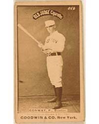 Dick Conway, Boston Beaneaters by Goodwin & Co.