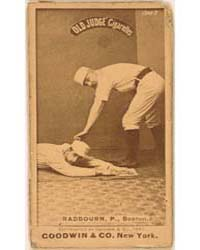 Old Hoss Radbourn, Boston Beaneaters by Goodwin & Co