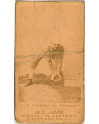 C. A. Farrell, Chicago White Stockings by Goodwin & Co.