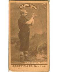 Jim McCormick, Chicago White Stockings by Goodwin & Co.