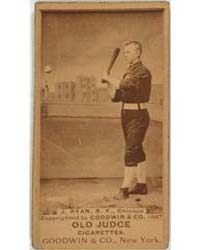 J. Ryan, Chicago White Stockings by Goodwin & Co.