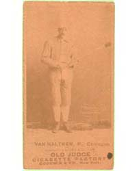 George Van Haltren, Chicago White Stocki... by Goodwin & Co.