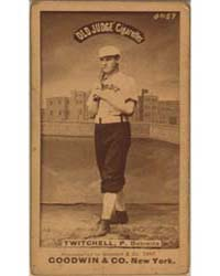 Larry Twitchell, Detroit Wolverines by Goodwin & Co.