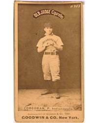 Larry Corcoran, Indianapolis Hoosiers by Goodwin & Co.