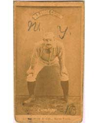 Roger Connor, New York Giants by Goodwin & Co.