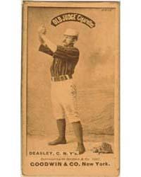 Pat Deasley, New York Giants by Goodwin & Co.
