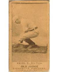 Buck Ewing, New York Giants by Goodwin & Co.