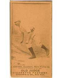 Buck Ewing, New York Giants by Goodwin & Co.