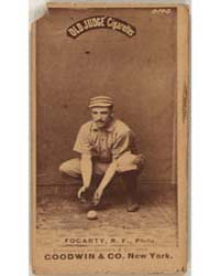 Jim Fogarty, Philadelphia Quakers by Goodwin & Co.