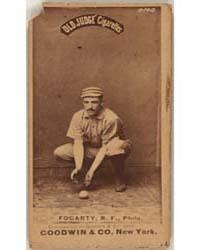 Jim Fogarty, Philadelphia Quakers by Goodwin & Co.