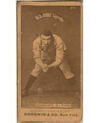 Tom Gunning, Philadelphia Quakers by Goodwin & Co.