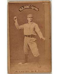 Tommy McCarthy, Philadelphia Quakers by Goodwin & Co.