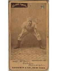 Deacon McGuire, Philadelphia Quakers by Goodwin & Co.