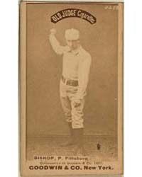 Bill Bishop, Pittsburgh Alleghenys by Goodwin & Co.