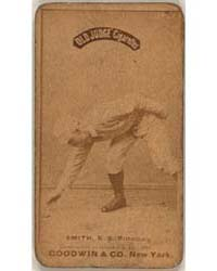 Pop Smith, Pittsburgh Alleghenys by Goodwin & Co.