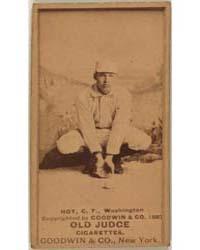 Dummy Hoy, Washington Statesmen by Goodwin & Co.