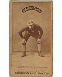 Al Myers, Washington Statesmen by Goodwin & Co.