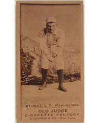 Walt Wilmot, Washington Statesmen by Goodwin & Co.