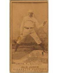 Elmer Smith, Cincinnati Red Stockings by Goodwin & Co.