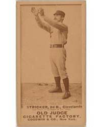 Cub Stricker, Cleveland Blues, Spiders, ... by Goodwin & Co.