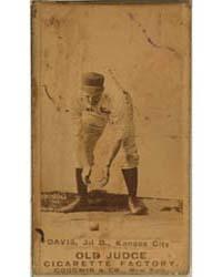 Jumbo Davis, Kansas City Cowboys by Goodwin & Co.