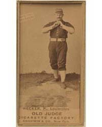 Guy Hecker, Louisville Colonels by Goodwin & Co.